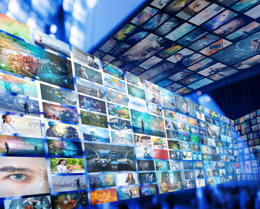 デジタルサイネージデザインのイメージ